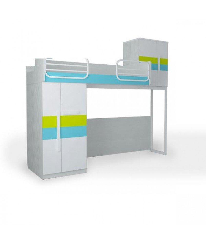ТВИСТ-ОЛЛИ - Кровать верхняя малая без лесенки